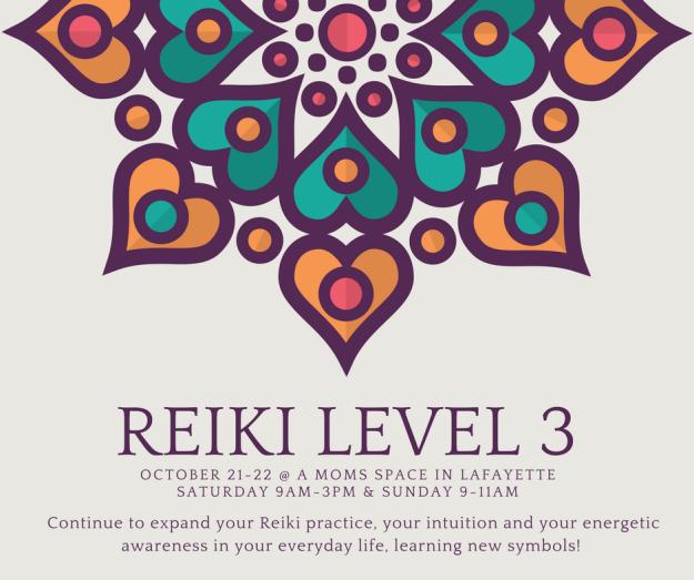 Advanced Reiki 3 October 21-22 2017 (1)